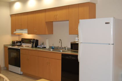 In-Room Kitchen | Microtel Inn & Suites by Wyndham Plattsburgh