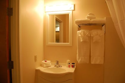 Bathroom Sink | Microtel Inn & Suites by Wyndham Plattsburgh