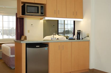 In-Room Kitchenette | Microtel Inn & Suites by Wyndham Plattsburgh