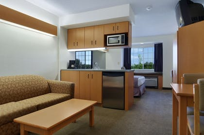 Living Area | Microtel Inn & Suites by Wyndham Plattsburgh
