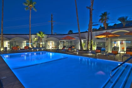 Outdoor Pool | The Palm Springs Hotel