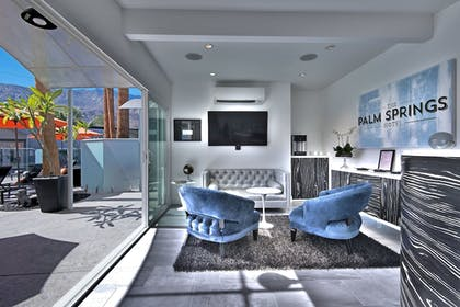 Interior Entrance | The Palm Springs Hotel