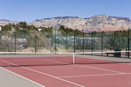 Tennis Court | A Sunset Chateau