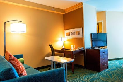 Guestroom | SpringHill Suites by Marriott Boston Devens Common Center