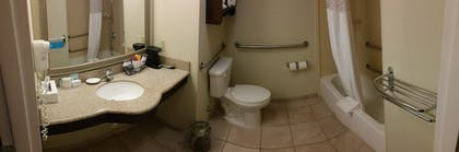 Bathroom | Hampton Inn Brattleboro