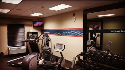 Fitness Facility | Hampton Inn Brattleboro