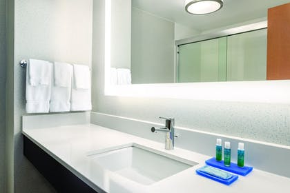Bathroom | Holiday Inn Express Hotel & Suites Lawton-Fort Sill