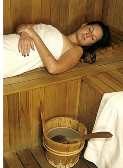 Sauna | The Spring Resort and Spa - Adults only