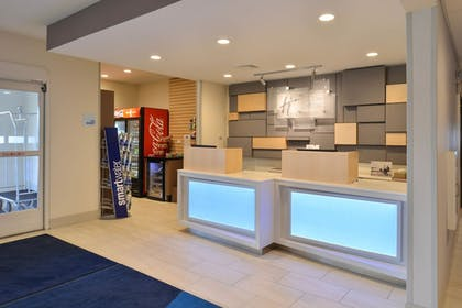 Reception   Holiday Inn Express and Suites Stevens Point