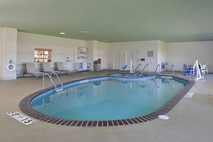 Pool   Holiday Inn Express and Suites Stevens Point