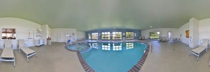 Indoor Pool   Holiday Inn Express and Suites Stevens Point