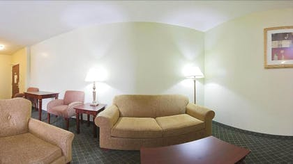 Living Room | Holiday Inn Express Hotel & Suites Lexington-Downtown