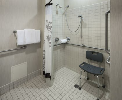 Bathroom Shower | Residence Inn by Marriott Fort Worth Cultural District