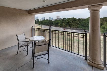 Balcony | Residence Inn by Marriott Fort Worth Cultural District