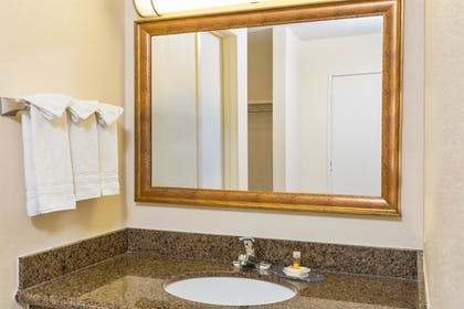 Bathroom | Days Inn by Wyndham San Diego-East/El Cajon
