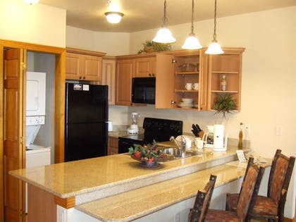 In-Room Kitchenette | Westgate Branson Woods Resort and Cabins