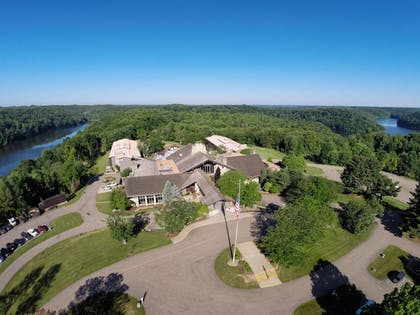 Aerial View | Salt Fork Lodge and Conference Center