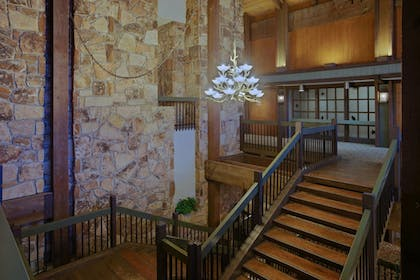 Staircase | Salt Fork Lodge and Conference Center