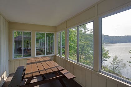 Balcony | Salt Fork Lodge and Conference Center