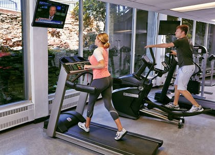 Fitness Facility | Salt Fork Lodge and Conference Center