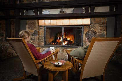 Lobby | Salt Fork Lodge and Conference Center
