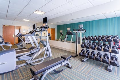 Fitness Facility | Holiday Inn Express & Suites Cedar Falls - Waterloo