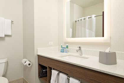 In-Room Amenity | Holiday Inn Express Hotel & Suites Conroe I-45 North