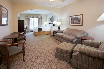 Living Area | Holiday Inn Express Hotel & Suites Conroe I-45 North