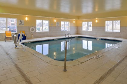 Indoor Pool | Holiday Inn Express & Suites Omaha West
