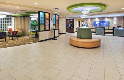Lobby   Holiday Inn Express Hotel & Suites Fort Worth Downtown