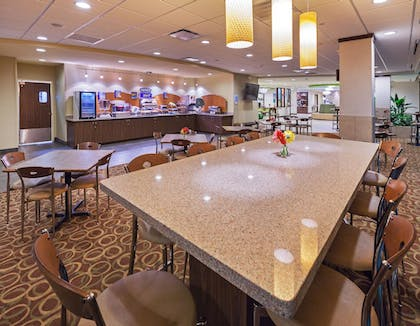 Breakfast Area   Holiday Inn Express Hotel & Suites Fort Worth Downtown