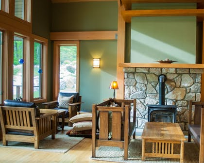 Fireplace | Minnewaska Lodge