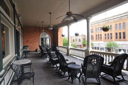 Terrace/Patio | Best Western Plus Windsor Hotel