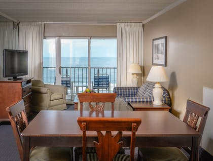 Living Area | Marigot Beach Suites - Oceanfront