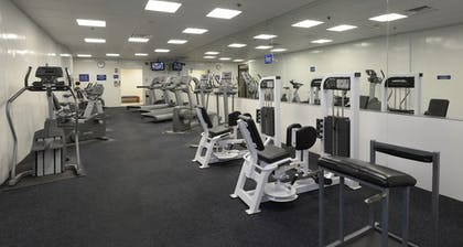 Fitness Facility | Marigot Beach Suites - Oceanfront