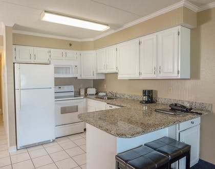 In-Room Kitchen | Marigot Beach Suites - Oceanfront