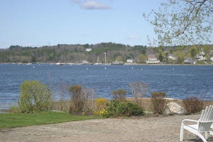 View from Hotel | Sheepscot Harbour Village Resort