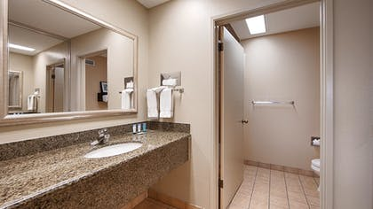Bathroom | Best Western Plus Forest Park Inn
