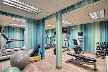 Fitness Facility | Holiday Inn Express Hotel & Suites Milwaukee Airport