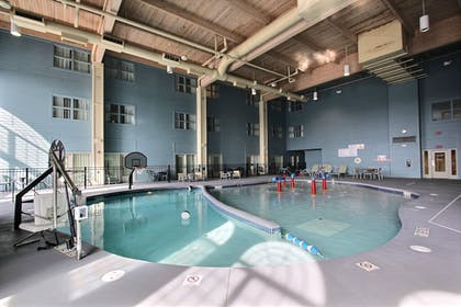 Indoor Pool | Holiday Inn Express Hotel & Suites Milwaukee Airport