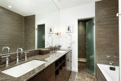 Bathroom   Independence Square Lodge by Frias
