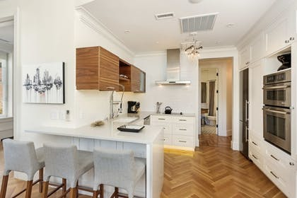 In-Room Kitchen   Independence Square Lodge by Frias