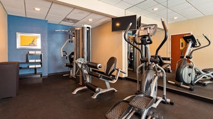 Fitness Facility | Best Western Wesley Chapel