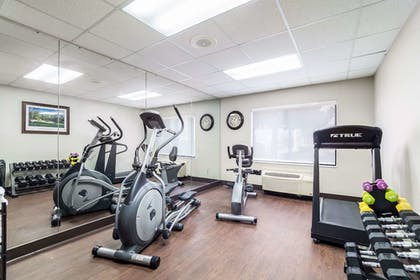 Fitness Facility | Quality Inn & Suites Augusta I-20