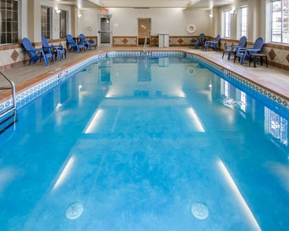 Pool | Sleep Inn & Suites Springdale West
