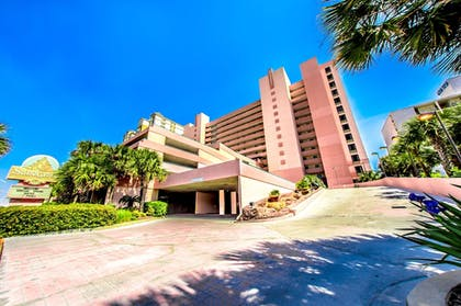 Hotel Front | Sandcastle Oceanfront Resort South Beach