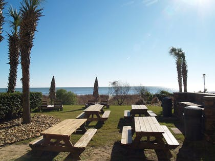 BBQ/Picnic Area | Sandcastle Oceanfront Resort South Beach