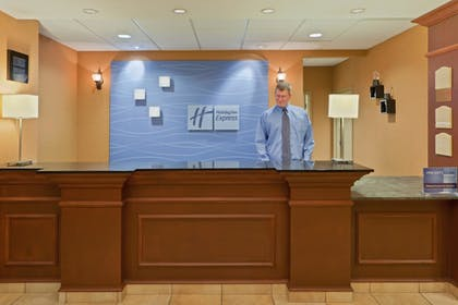 Reception | Holiday Inn Express Hotel & Suites Kent State University