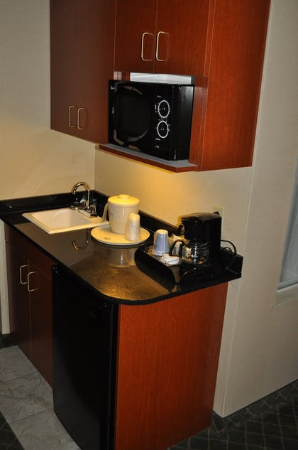 In-Room Kitchenette | Holiday Inn Express Hotel & Suites Kent State University