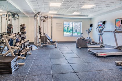 Fitness Facility | Holiday Inn Express Hotel & Suites Bismarck